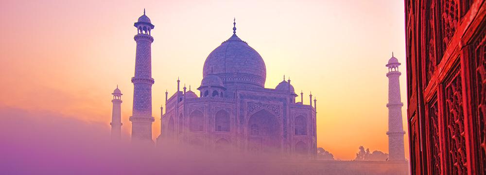 Indien-Reise - Taj Mahal