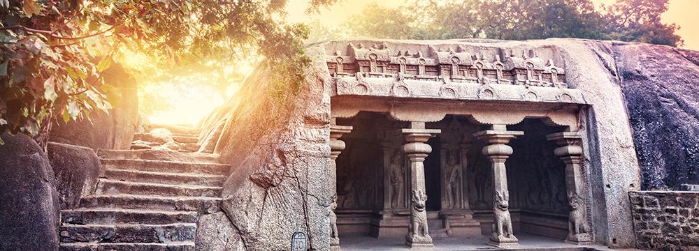 Indien-Reise - Tempelanlage