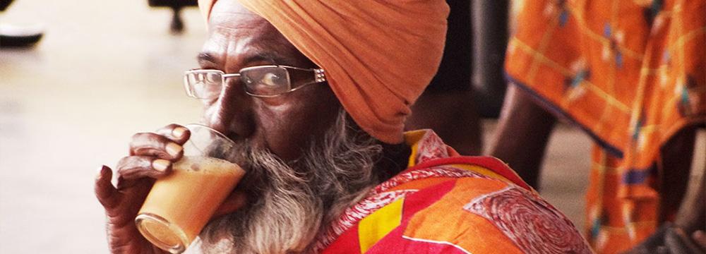 Indien-Reise - Teetrinker